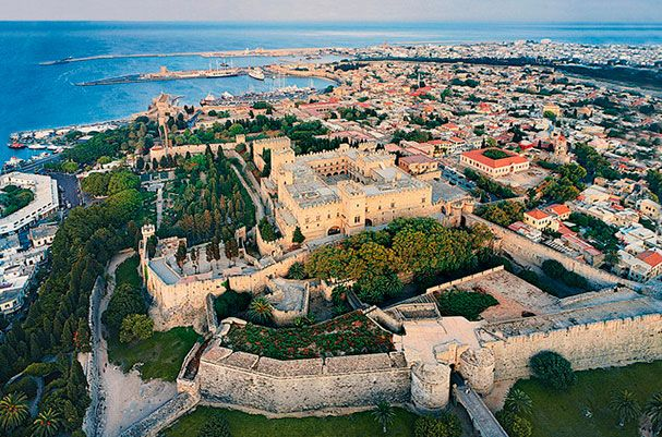 Rhodes Old Town Walking Tour (Small Group), Discover the island of Rhodes