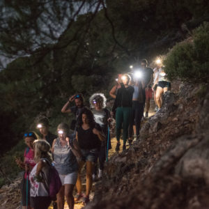 Amazing Sunset Hike Profitis Ilias