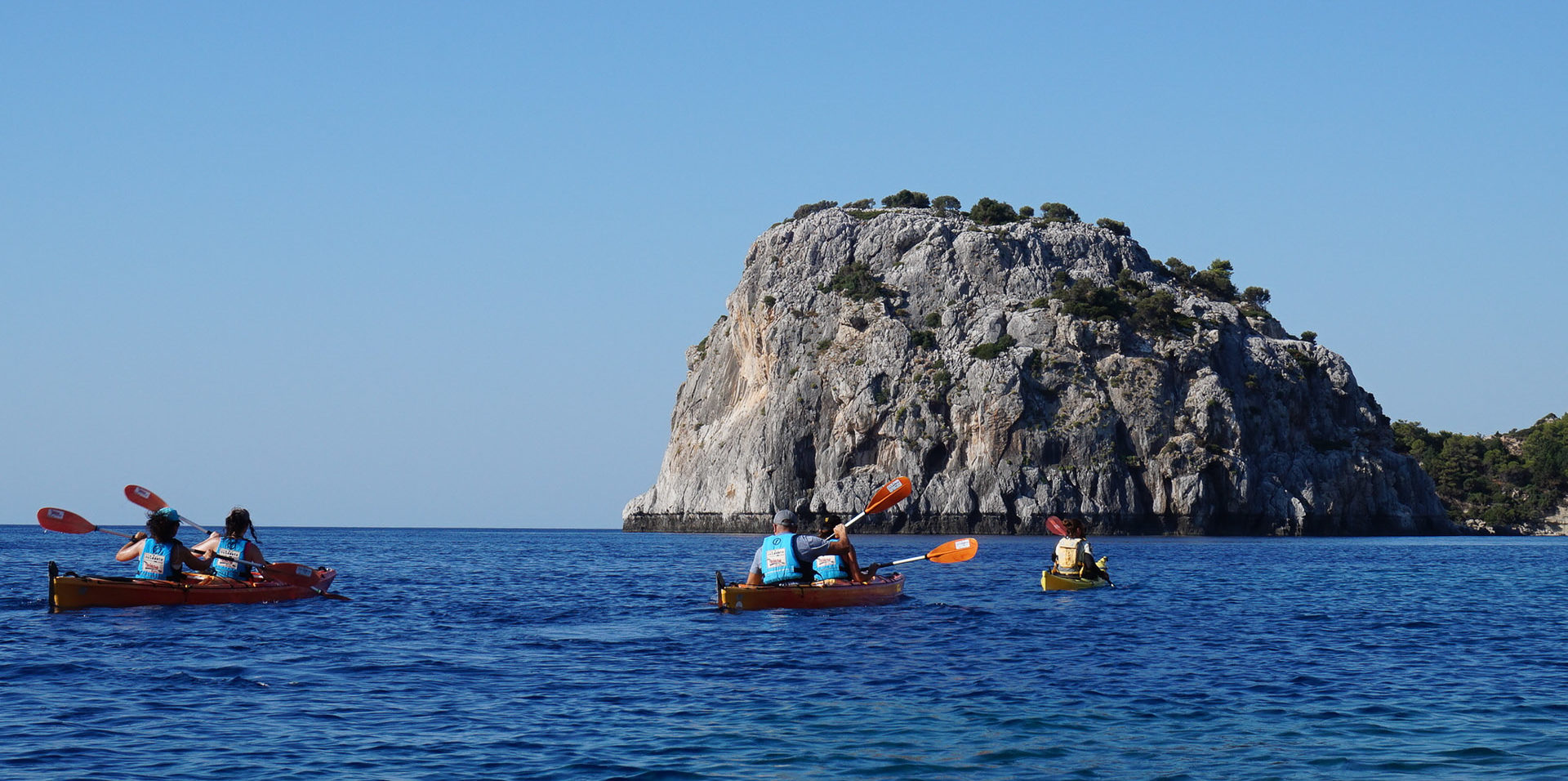 Kayaking half day Tour -The Pirates' Route (Shared)